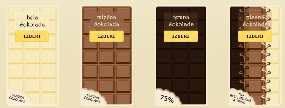 Čokolada po naročilu